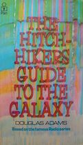 Hitchhiker's Guide to the Galaxy bookcover