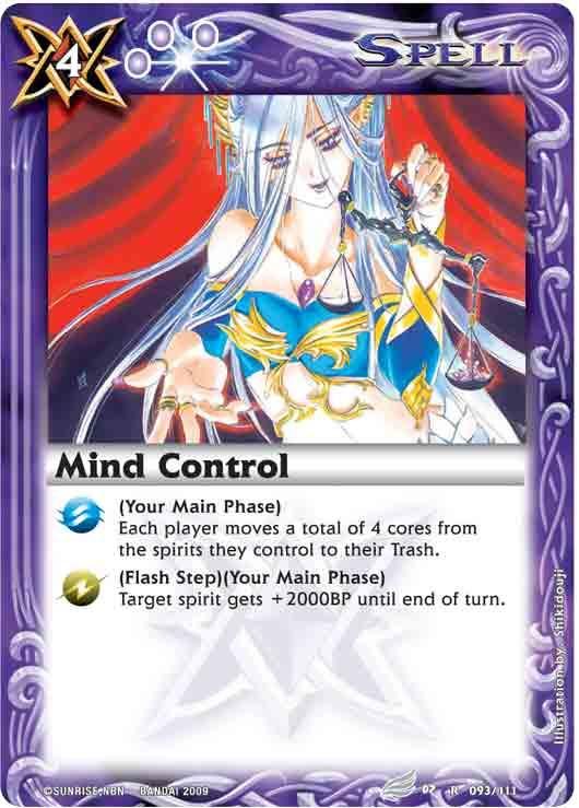 Restricted/Limited List Mindcontrol2