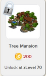 Tree Mansion Rewardville locked