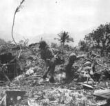 US Marines on Saipan