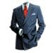Standard 75x75 collect gangster apparel double breast suit