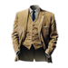 Standard 75x75 collect gangster apparel gabardine suit