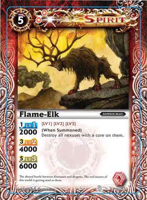 Battle spirits Set 3  300px-Flame-elk2