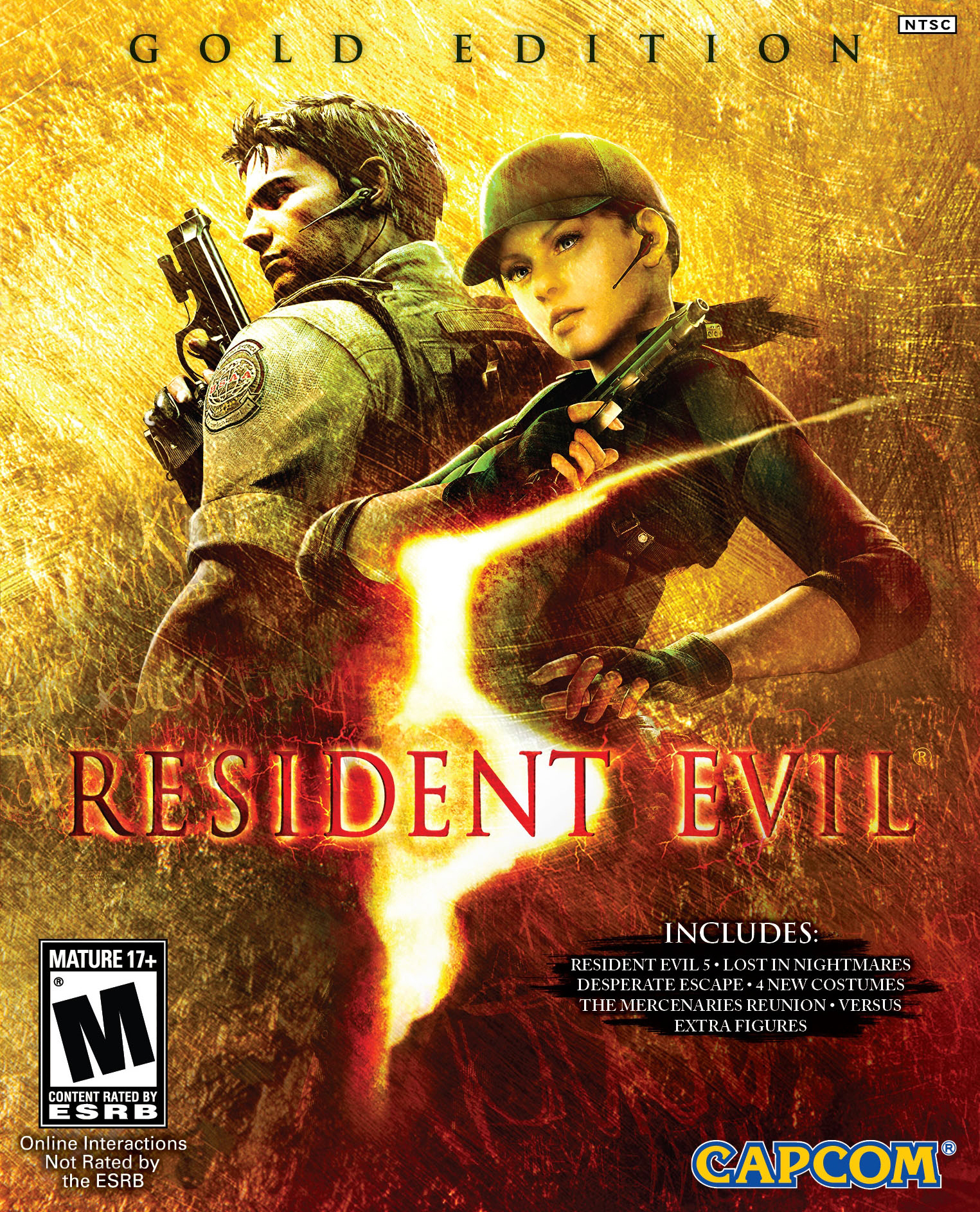 Resident Evil 5 Gold Edition Original Soundtrack