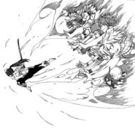 Erza&#39;s allies help her