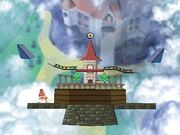 Peach's Castle (SSB Crusade)