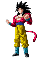 Goku SSJ4v2 Trans