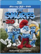 Smurfs Movie Bluray 3D