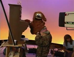 Behind the Scenes Rowlf