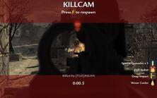 World at war killcam