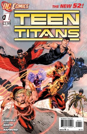 Cover for Teen Titans #1