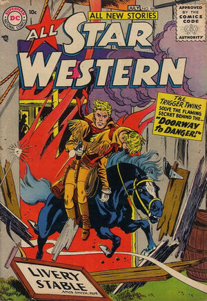 Cover for All-Star Western #89