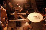 USS Enterprise refit studio model laboriously handled by ILM's visual effects team