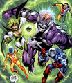 Fatal Five Superboy&#39;s Legion 001