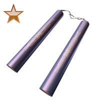 Huge item nunchucks bronze 01