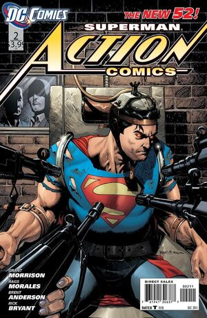 Cover for Action Comics #2