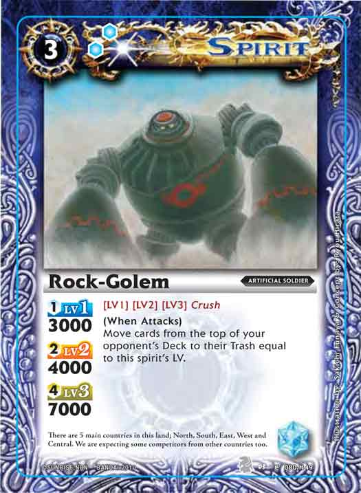 Booster Set 3 Rock-golem2