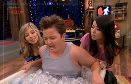 Cibby Carly Gibby tub of ice iptn