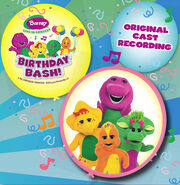 Birthday bash soundtrack front cover
