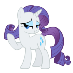 Rarity vector by HelgiH