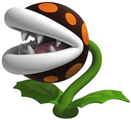 BlackVenusFireTrap Artwork (Super Mario 3D Land)