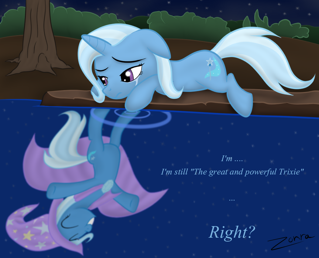 My Little Pony Trixie Sad