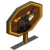 Nightmare Cow Mastery Sign-icon