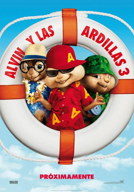 Alvin y las ardillas 3 doblaje wiki for Alvin y las ardillas