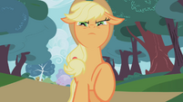 Applejack serious face S01E04