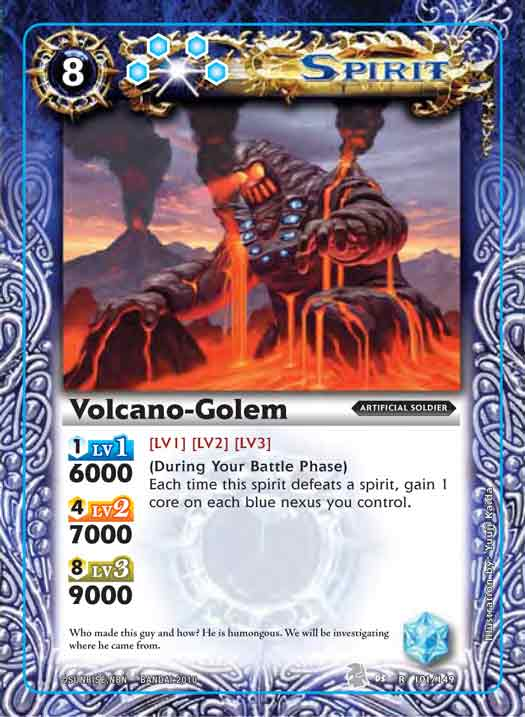 Booster Set 3 Volcano-golem2