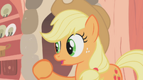 Applejack telling a story S01E08