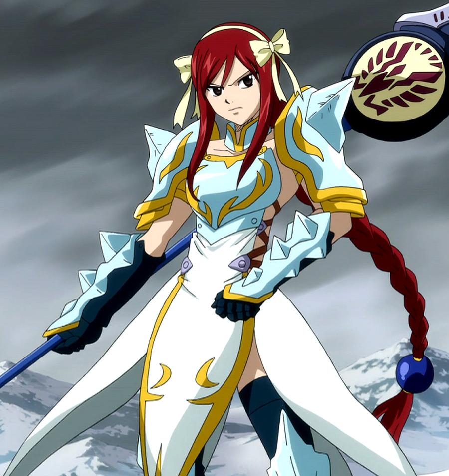 Todas Las Armaduras de Erza Scarlet (Fairy Tail)