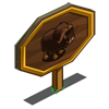Musk Ox Mastery Sign-icon