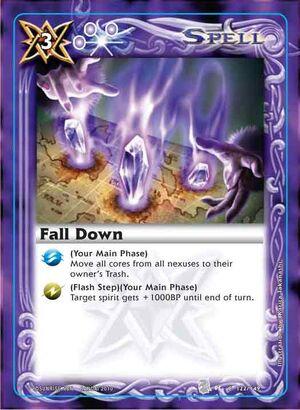 Battle spirits Set 3  300px-Falldown2