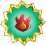 Volcano Badge