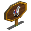 French Unicorn Mastery Sign-icon