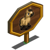 Buckskin Mini Horse Mastery Sign-icon