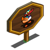 Male Mandarin Duck Mastery Sign-icon