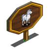 White Stallion Mastery Sign-icon