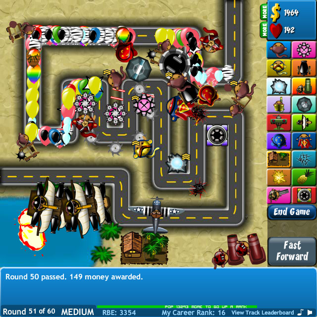 Bloon Tower Defense 4