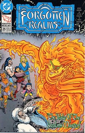 Cover for Forgotten Realms #25