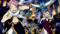 716px-Natsu, Lucy, and Happy running from Rune Knights
