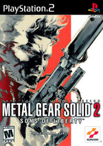 Metal Gear Solid 2 Sons Of Liberty Boxart