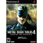Metal Gear Solid 4 Guns Of The Patriots Boxart