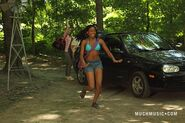 Marisol In Her Bikini Running From The Katie&#39;s Car To Jake Leaving Katie &amp; Drew By Her Car