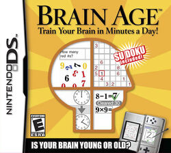 Brain Age Train Your Brain in Minutes a Day (NA)