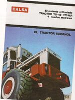 CALSA TD-12 4WD