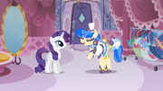Sapphire Shores talks to Rarity S1E19