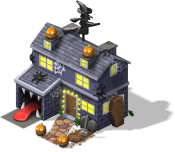 Halloween Party House-SW