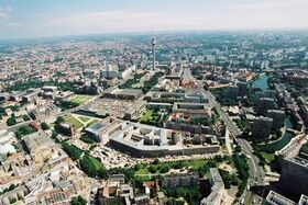 Aerial-view-of-berlin-mitte